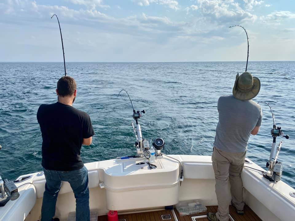 NY Salmon Charters - Lake Erie Fishing Adventures